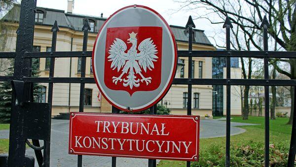 Trybunał Konstytucyjny w Warszawie - Sputnik Polska