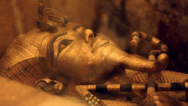 Sarkofag faraona Tutenchamona - Sputnik Polska