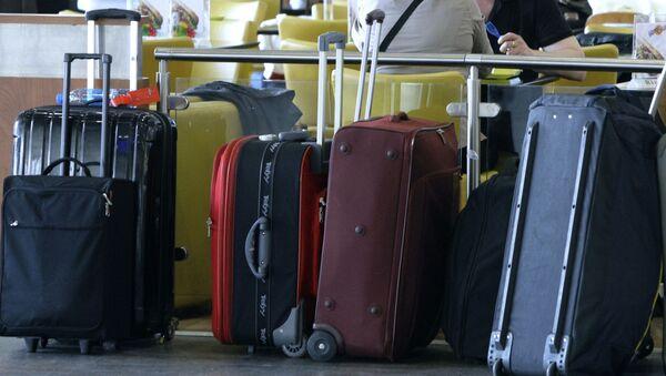 Bagaże na lotnisku Szeremietiewo - Sputnik Polska