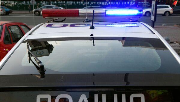 Radiowóz policyjny w Kijowie - Sputnik Polska