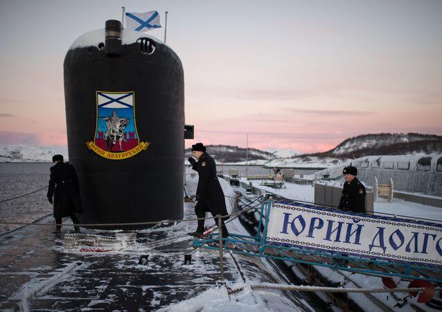 """10 stycznia 2013 roku na służbę w 31. dywizji okrętów podwodnych Floty Północnej trafił okręt podwodny o napędzie atomowym typu Borei """"Jurij Dołgoruki"""". Jednostka jest głównym okrętem projektu Borei, którą nazwano na cześć założyciela Moskwy."""