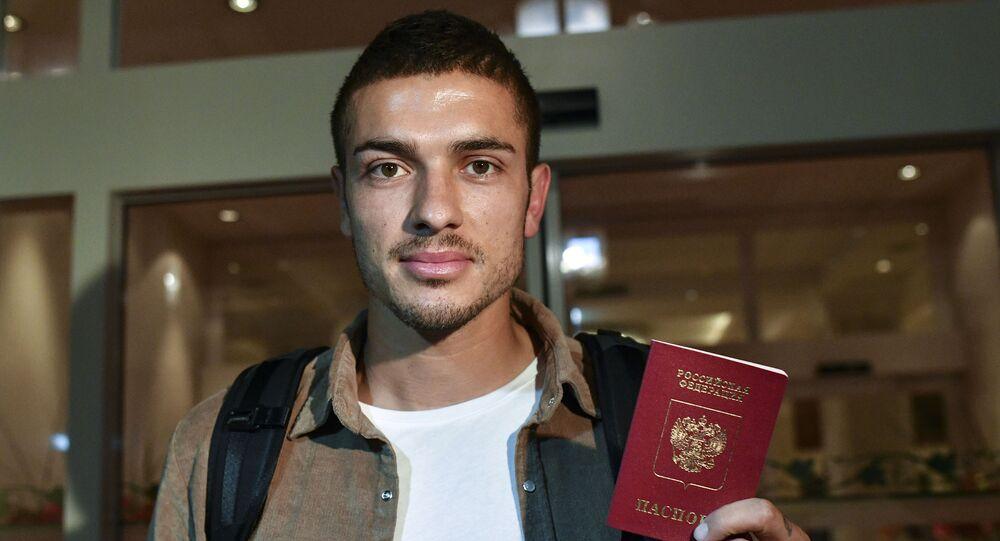 Piłkarz reprezentacji Rosji i niemieckiego klubu Schalke Roman Neustädter