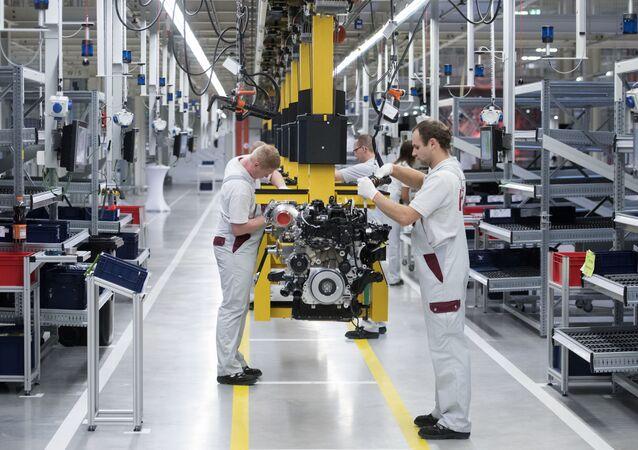Fabryka Daimler w Niemczech