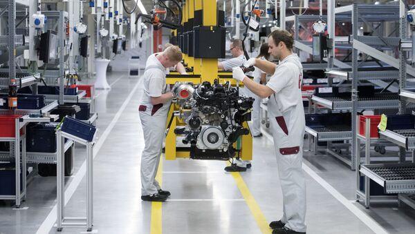 Fabryka Daimler w Niemczech - Sputnik Polska