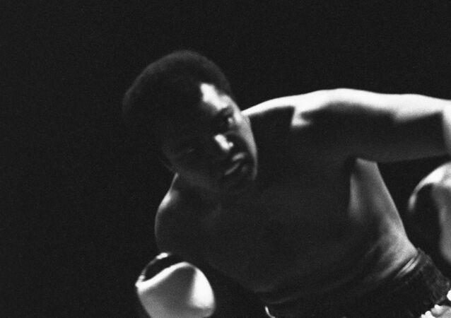 Legendarny bokser Muhammad Ali