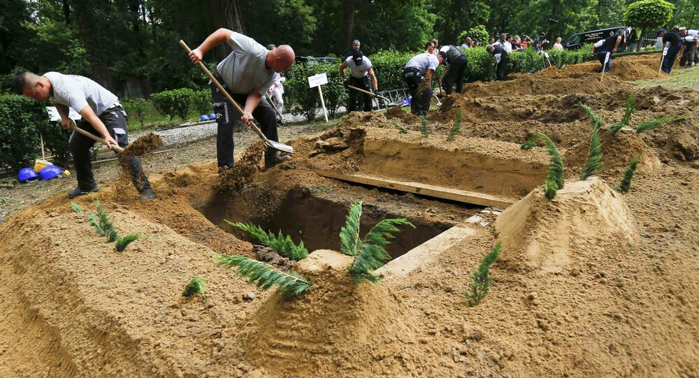 Zawody w kopaniu grobów na Węgrzech