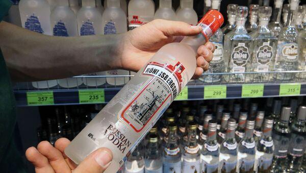 Sklep z alkoholem w Kaliningradzie - Sputnik Polska