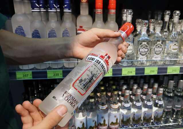 Sklep z alkoholem w Kaliningradzie