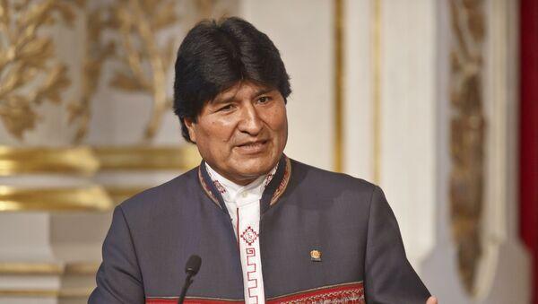 Prezydent Boliwii Evo Morales - Sputnik Polska