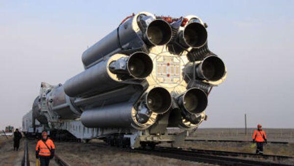 Rakieta Proton M z satelitą - Sputnik Polska