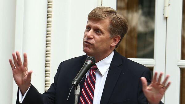 Michael McFaul - były ambasador USA w Rosji - Sputnik Polska
