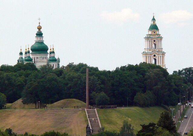 Okolice Czernihowa na Ukrainie