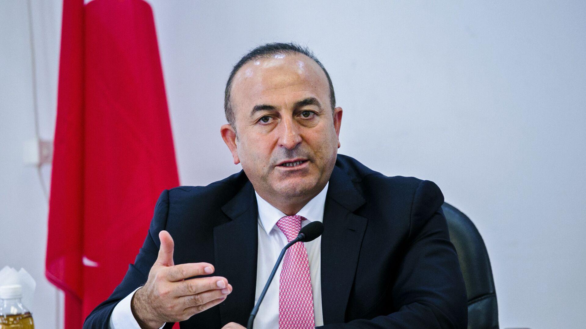 Minister spraw zagranicznych Turcji Mevlut Cavusoglu - Sputnik Polska, 1920, 07.07.2021