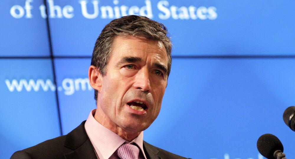Były sekretarz generalny NATO Anders Fogh Rasmussen