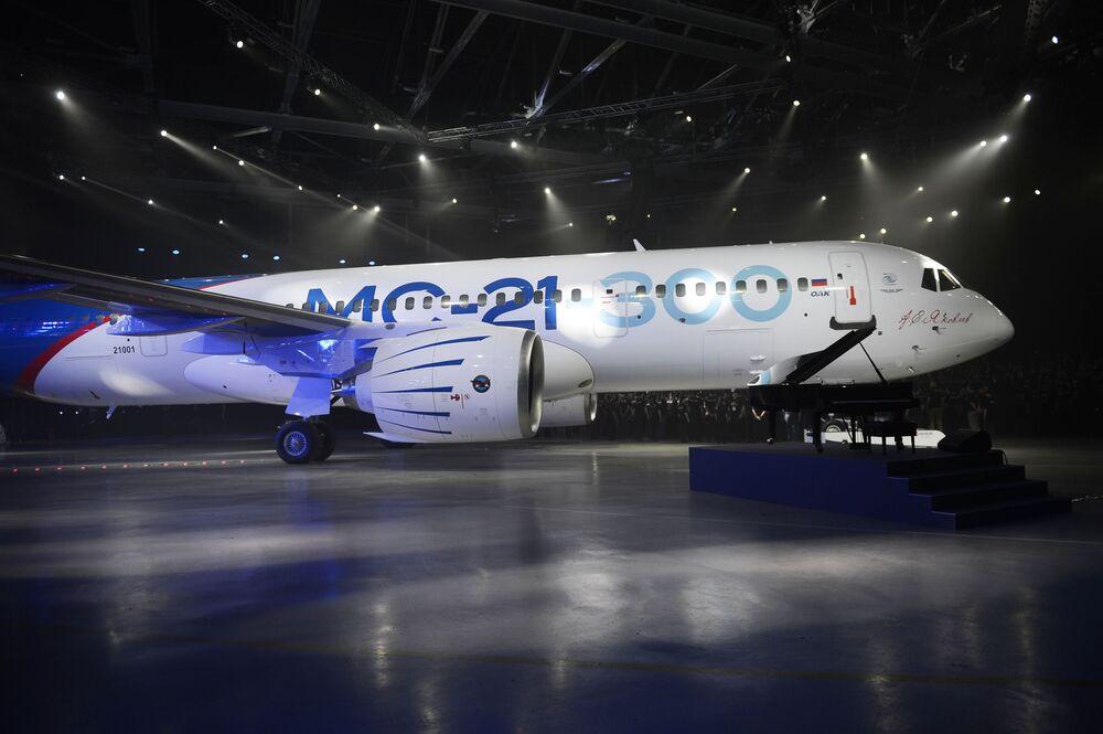 Kilka lat temu zdecydowaliśmy się skonstruować samolot, który zajmie należne miejsce w światowym rynku lotniczym - powiedział prezes kompanii Irkut.