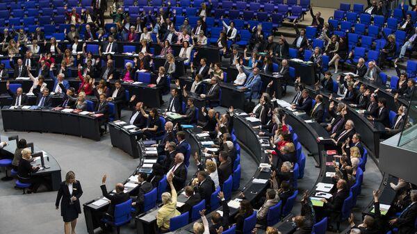 Głosowanie w sprawie ludobójstwa Ormian w Bundestagu - Sputnik Polska