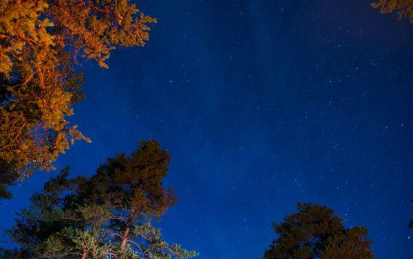 Jedna z głównych atrakcji podczas wypoczynku w Karelii – białe noce, które rozpoczynają się tutaj pod koniec maja i kończą się w połowie sierpnia. A po nich nadchodzą bajecznie piękne gwiaździste noce. - Sputnik Polska