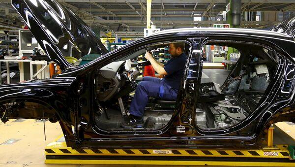 Fabryka Mercedes Benz w Niemczech - Sputnik Polska