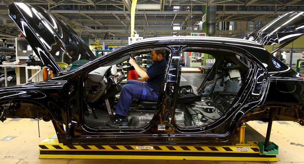 Fabryka Mercedes Benz w Niemczech