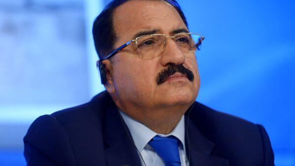 Ambasador Nadzwyczajny i Pełnomocny Syryjskiej Republiki Arabskiej w Federacji Rosyjskiej Riyad Haddad - Sputnik Polska