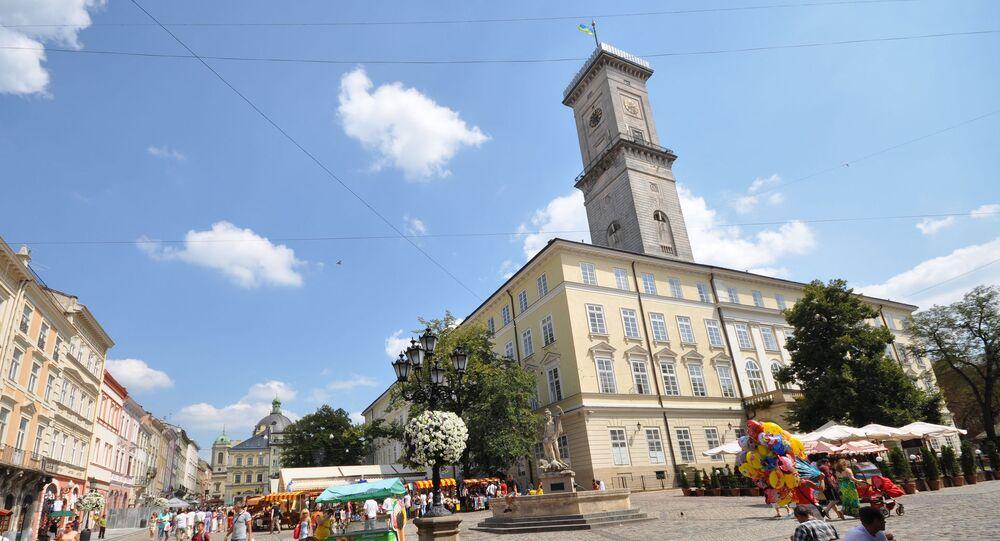 Budynek lwowskiego merostwa