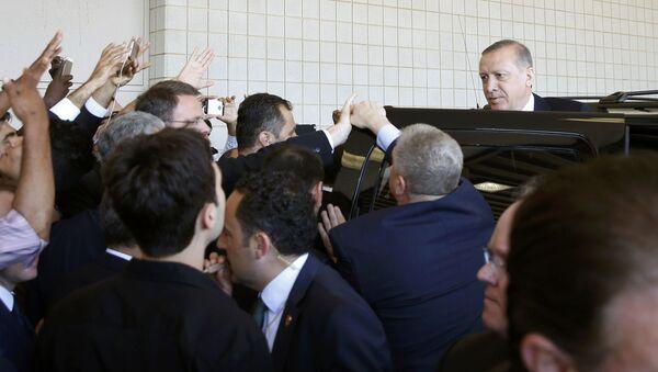 Wizyta tureckiego prezydenta Recepa Tayyipa Erdoğana w USA - Sputnik Polska