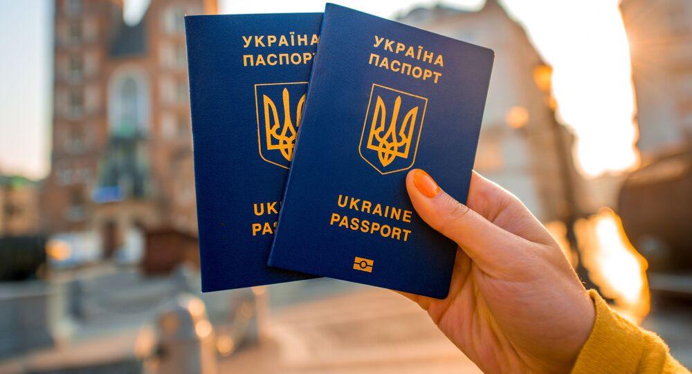 Paszport obywatela Ukrainy