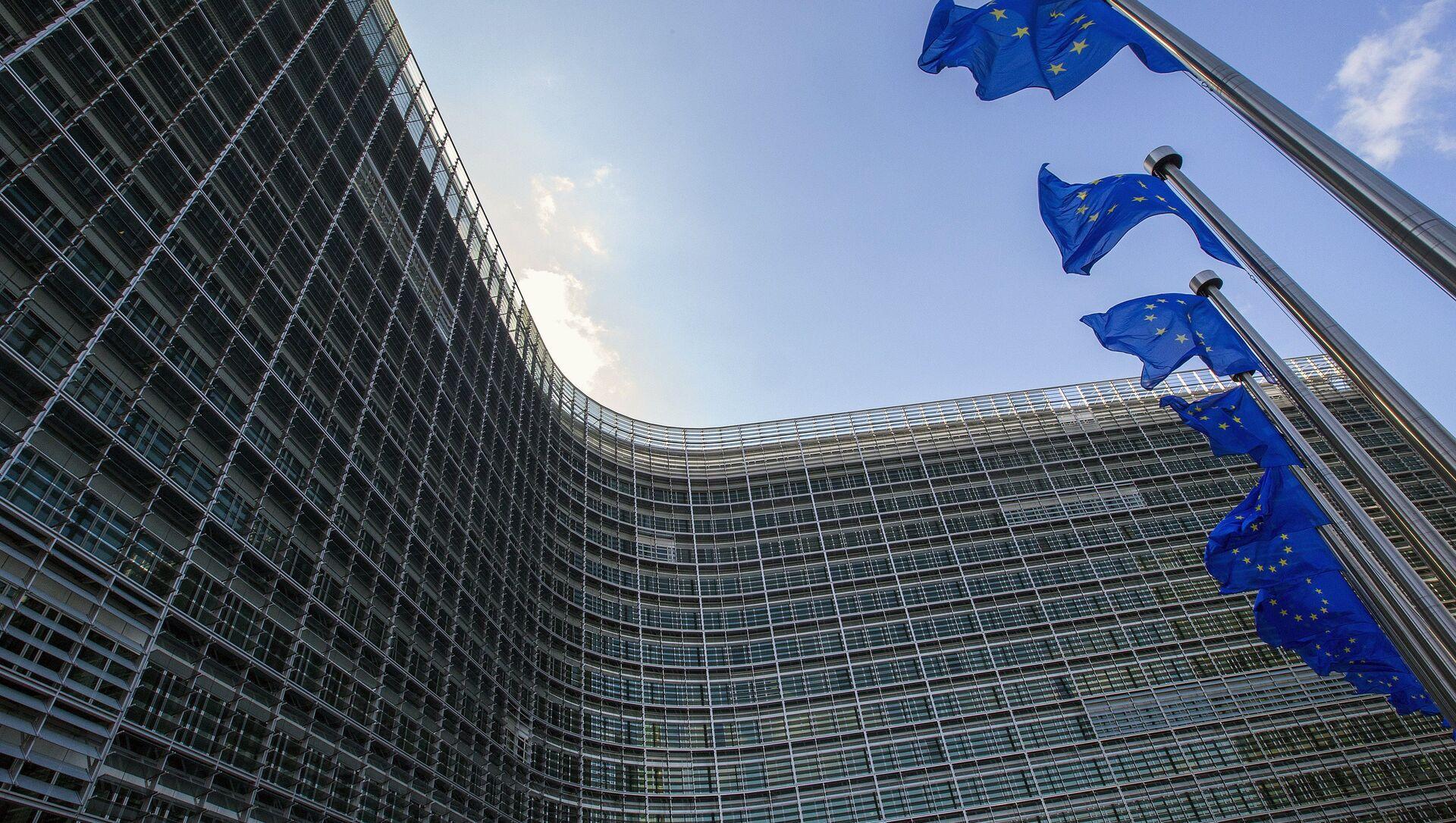 Siedziba Komisji Europejskiej. Bruksela. - Sputnik Polska, 1920, 24.02.2021