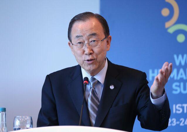 Sekretarz generalny ONZ Ban Ki-moon