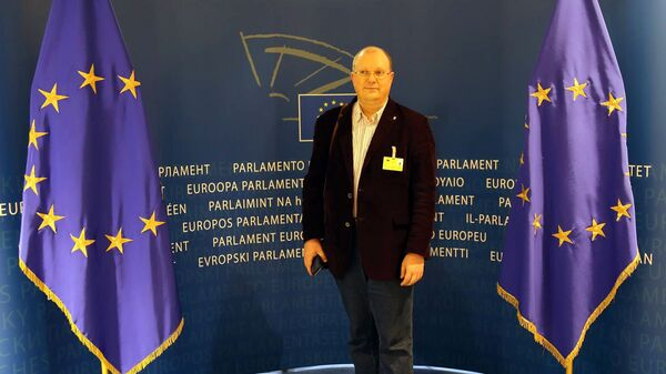 Dziennikarz Rossiya Segodnya Leonid Swiridow - Sputnik Polska