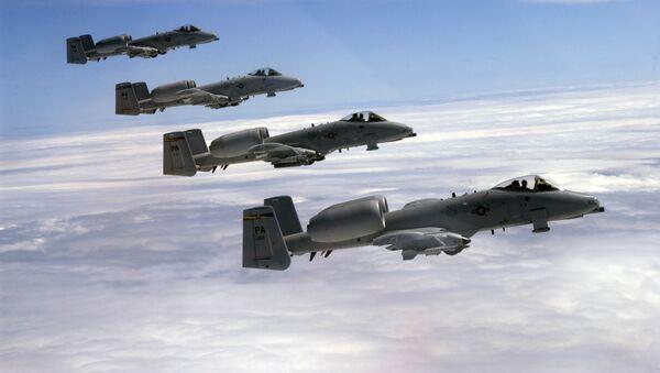 Amerykańskie samoloty A-10C Thunderbolt - Sputnik Polska