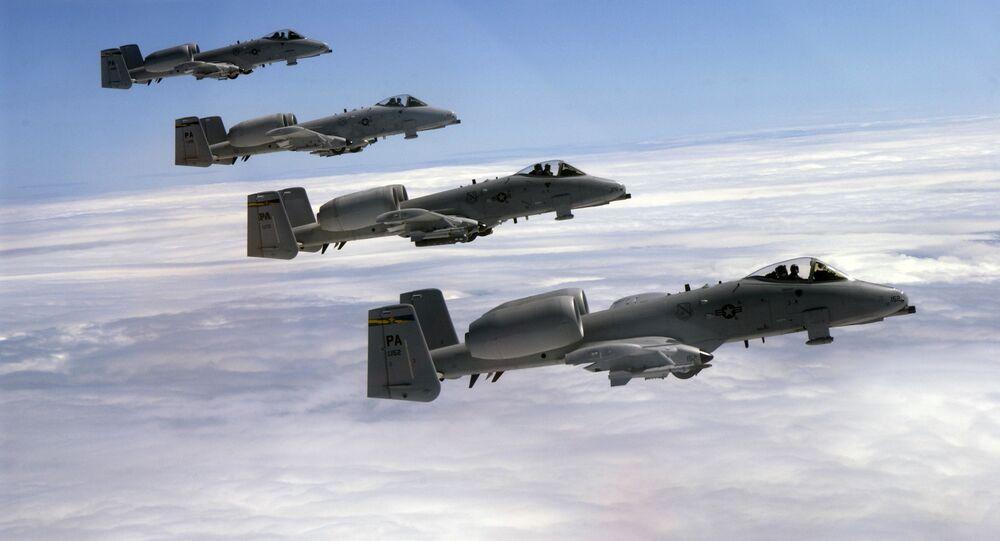 Amerykańskie samoloty A-10C Thunderbolt