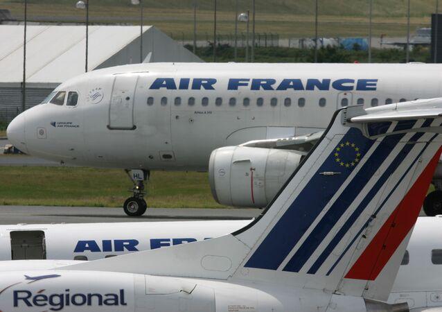Samoloty pasażerskie Air France