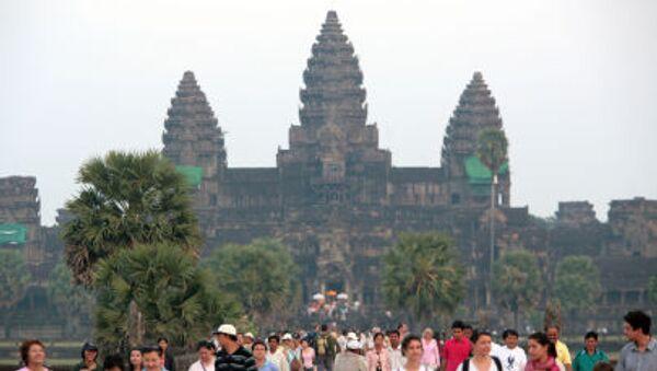 Kompleks światyny Angkor-Wat - Sputnik Polska