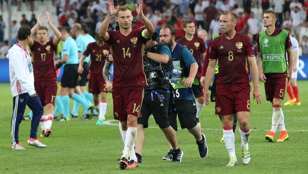 Mecz Rosja-Anglia podczas Mistrzostw Europy - Sputnik Polska