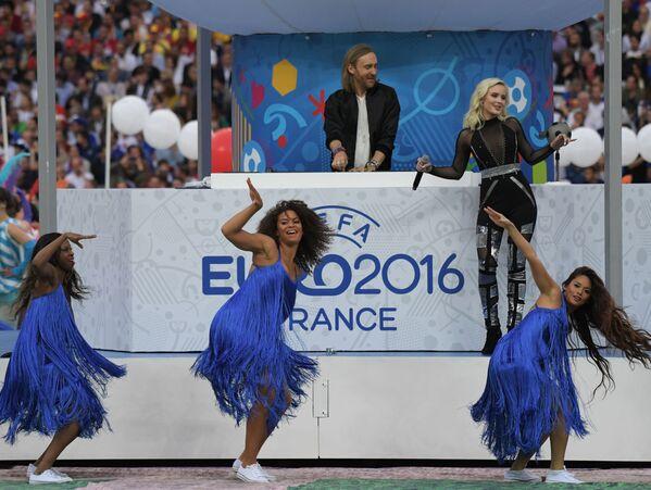 Otwarcie Mistrzostw Europy w Piłce Nożnej we Francji - Sputnik Polska
