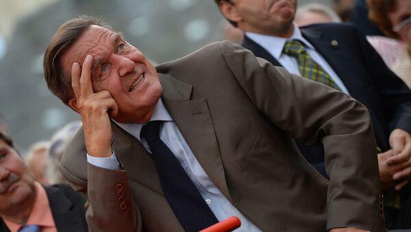 Były kanclerz Niemiec Gerhard Schröder - Sputnik Polska