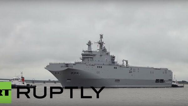 Pierwszy Mistral wyruszył z Francji do Egiptu - Sputnik Polska