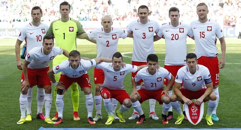 Reprezentacja Polski przed meczem z Irlandią Północną na Euro 2016
