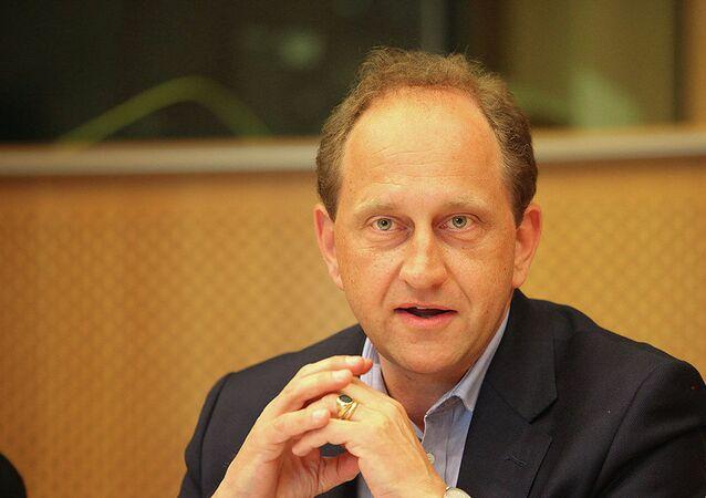 Wiceprzewodniczący Parlamentu Europejskiego Alexander Graf Lambsdorff