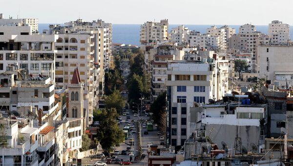 Widok na syryjskie miasto Latakia - Sputnik Polska