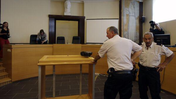 Francuska policja w sądzie miasta Marsylia - Sputnik Polska