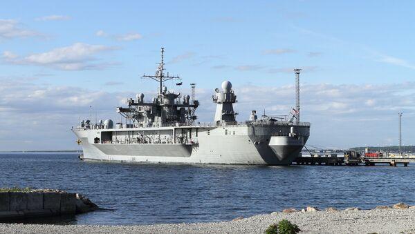 USS Mount Whitney, Baltops (Baltic Operations) - Sputnik Polska