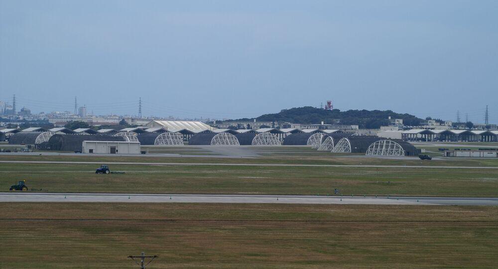 Amerykańska baza lotnicza na Okinawie