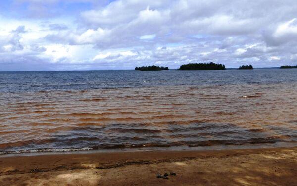 Jezioro Sjamoziero w Karelii - Sputnik Polska