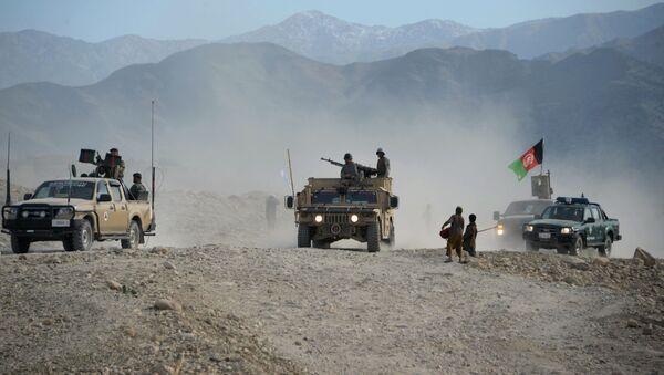 Afgańscy żołnierze w prowincji Nangarhar - Sputnik Polska