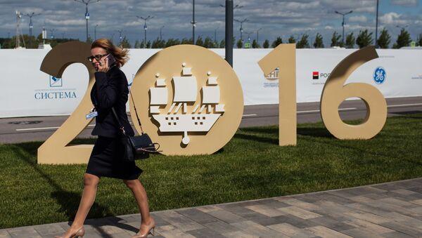 20. Międzynarodowe Forum Ekonomiczne w Petersburgu - Sputnik Polska