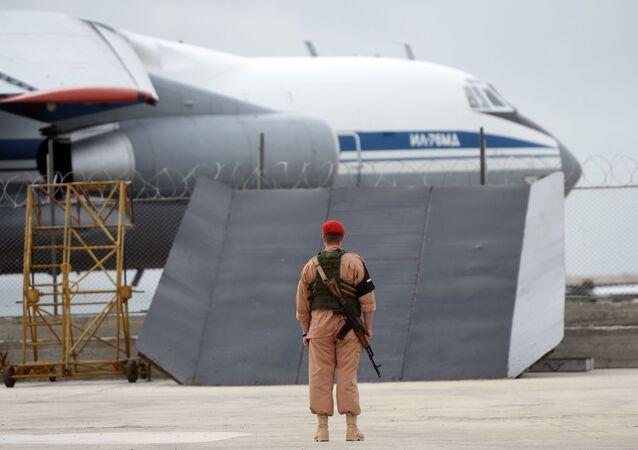 Baza wojskowa Hmeimim w Syrii