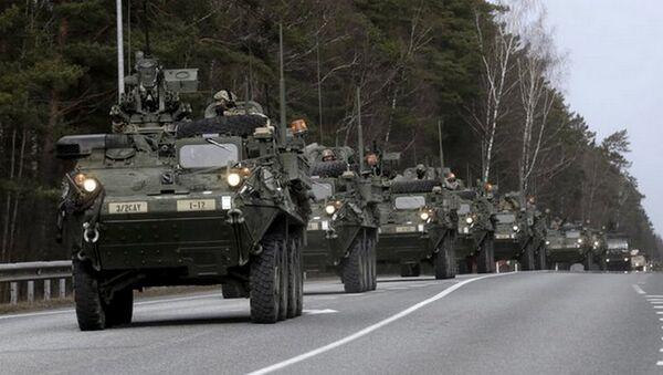 Manewry NATO w Polsce. - Sputnik Polska