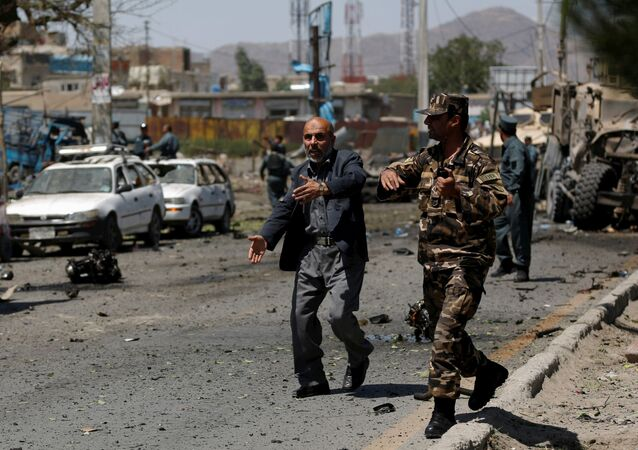 Policja w Kabulu